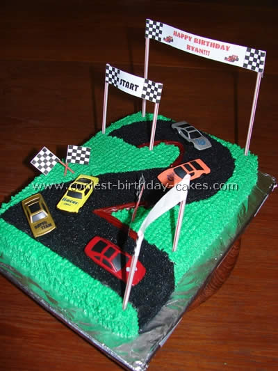 For This Race Track Cake