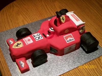 Madeira Birthday Cake Filling