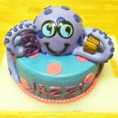 Octopus Birthday Cakes