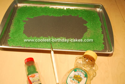 Rock Climber Cake