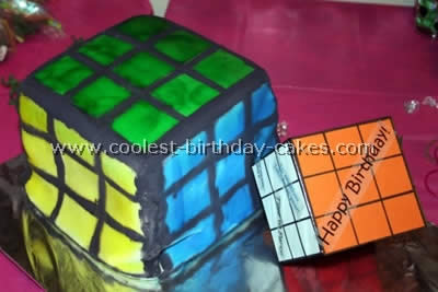 coolest rubiks cube cake ideas and photos