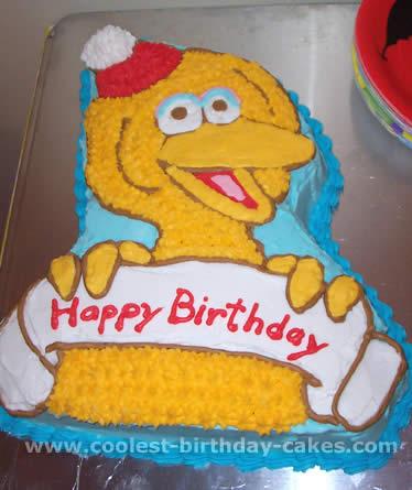 Coolest Homemade Big Bird Cakes