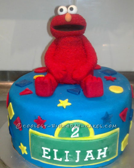 Coolest Elmo Birthday Cake