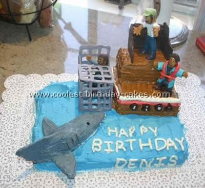 Shark Picture Cake Ideas And How To Tips