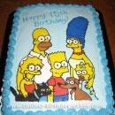 Simpsons Birthday Cakes