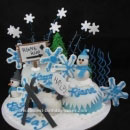Skiing Birthday Cakes