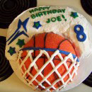 Basketball Birthday Cakes