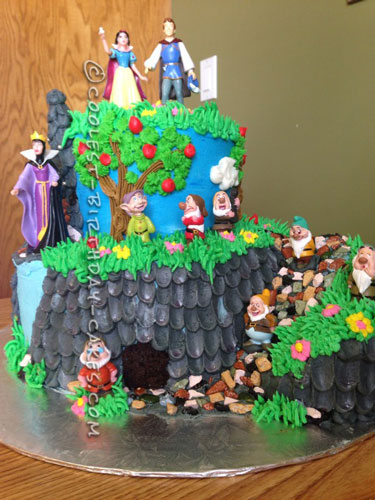 Coolest Snow White Cake Ideas