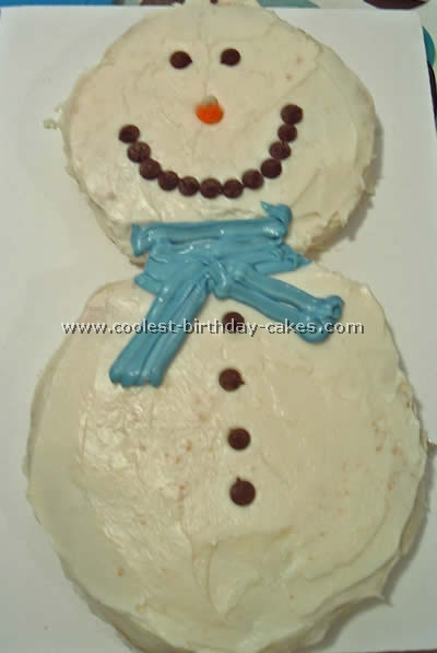 Coolest Snowman Cake Photos And How To Tips