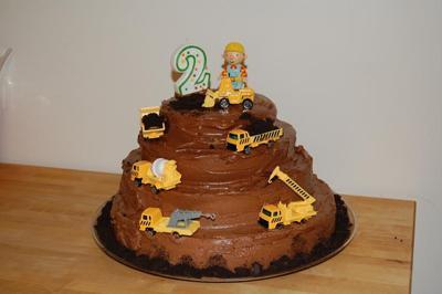 Bob/Construction Cake