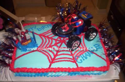 Spiderman Birthday Cake on Spiderman Cake 49