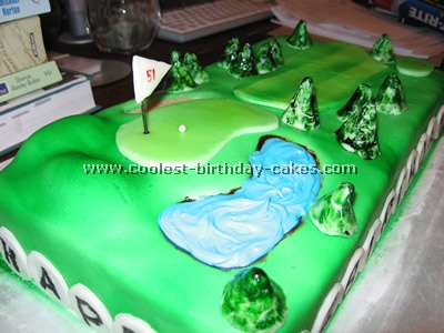 Coolest Golf Sports Cake Ideas