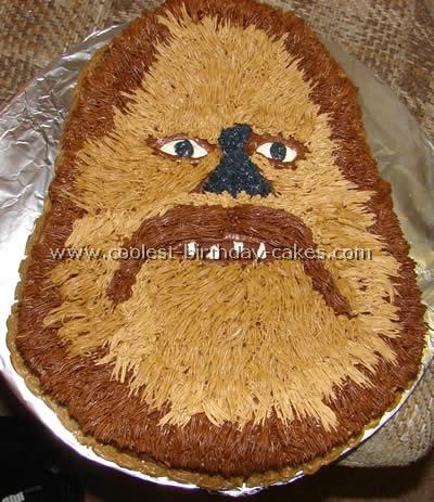 German Chocolate Chewbacca Cake