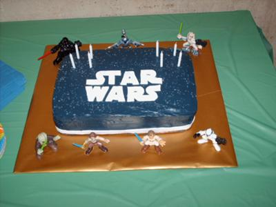 Star Wars Birthday Cake Coolest Homemade Star Wars Birthday Cakes