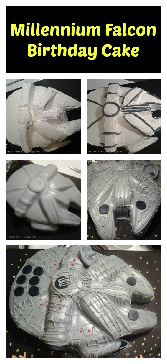 Awesome Diy Star Wars Cake Ideas