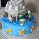 Death Star Birthday Cakes
