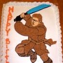 Luke Skywalker Birthday Cakes