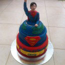 Superman Birthday Cakes