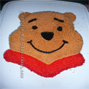 Pooh Bear Birthday Cake Ideas
