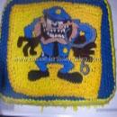 Tasmanian Devil Taz Birthday Cakes