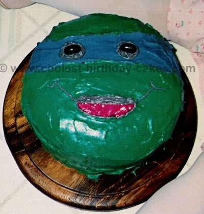 71 Coolest Teenage Mutant Ninja Turtle Cake Ideas