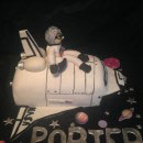 Space Shuttle Birthday Cakes