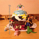 Toy Story Scene Birthday Cakes