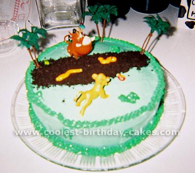 Lion King Cake Photo