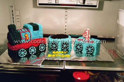Cake Designs For A 4 Year Old Boy : Coolest Thomas Birthday Cake Photos and Ideas