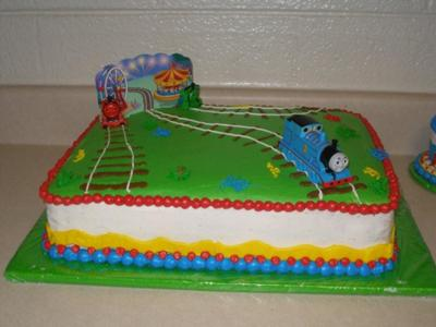 Thomas Birthday Cake on Thomas The Train Cake
