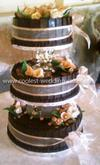 Coolest Chocolate Wedding Cake