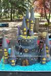 Homemade Harry Potter Castle Cake Design
