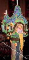 Homemade Rapunzel Cake