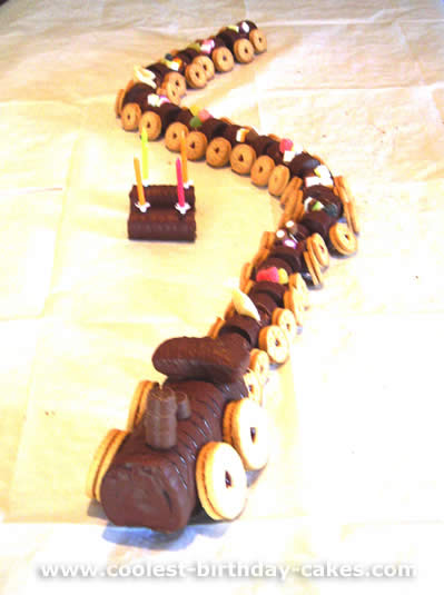 Coolest Train Birthday Cake Photos On The Web S Largest