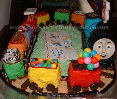 Coolest Thomas The Train Cake Photos And Ideas