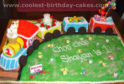 Coolest Train Cakes And Original Train Cake Designs