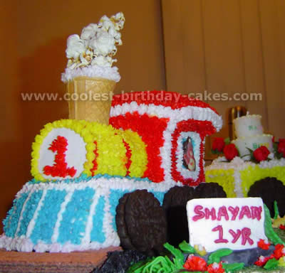 Coolest Train Cakes And Original Train Cake Designs