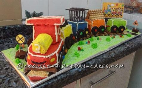Coolest Birthday Express Cake