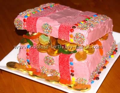 Coolest Treasure Chest Cake Photos
