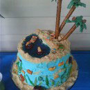 Beach Scene Birthday Cakes