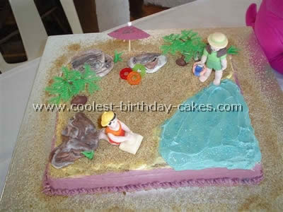 Coolest Homemade Beach Scene Cakes