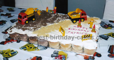 Unique Birthday Cakes For A Construction Theme Party 11