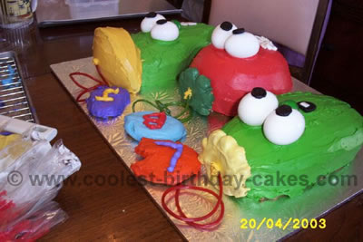 Coolest Veggie Tale Cakes And How To Tips