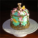 Bird House Birthday Cakes