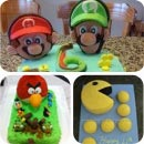 Video Game Character Cakes