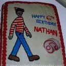 Wheres Waldo Birthday Cakes