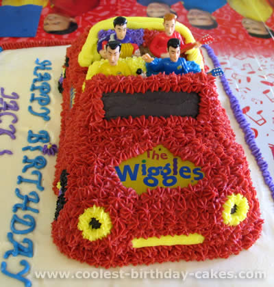Coolest Homemade Wiggles Car Cakes