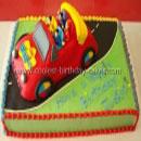 Wiggles Car Birthday Cakes