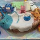 Winnie the Pooh Scene Birthday Cakes