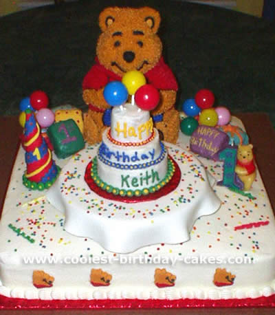 Edible Cake Images Trinidad : Coolest Winnie the Pooh Picture Cakes and How-To Tips
